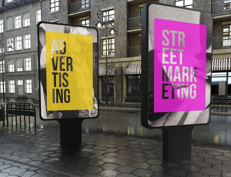Panneaux & bâches publicitaires