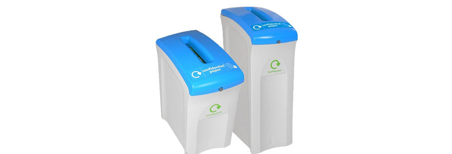 poubelle tri sélectif collecteur de papier confidentiel